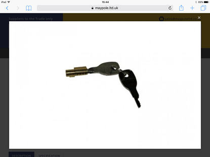 Picture of Integral Security Lock and Key