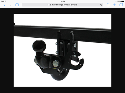 Picture of Fixed Flange Towbar