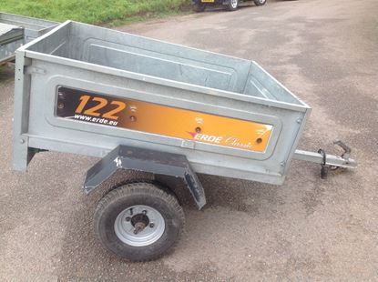 Picture of Erde 122 Car Trailer - SOLD!!!!!!!!!!!!!!!!!