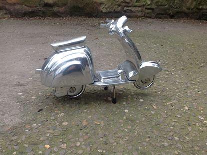 Picture of Silver Vespa Model