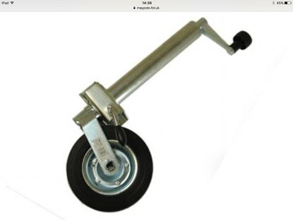 Picture of 48mm Standard Duty Telescopic Jockey Wheel plus Clamp