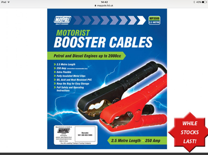 Picture of Booster Cable