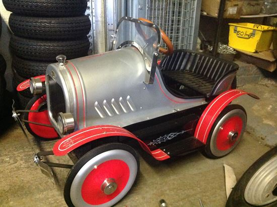 Picture of Vintage Childs Pedal Car