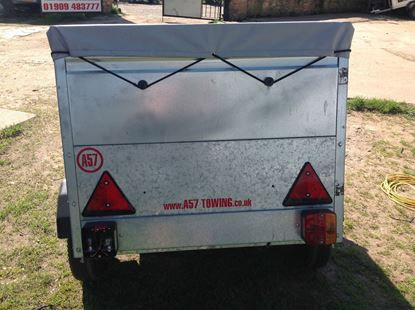 Picture of Caddy Car Trailer