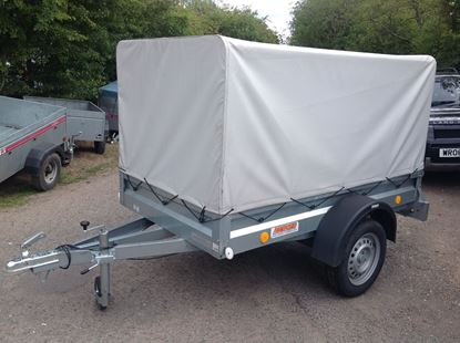Picture of Neptun Car Trailer with High Bars and Cover