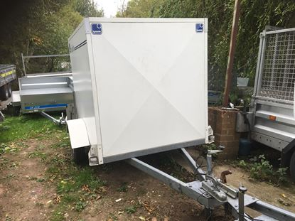 Picture of Lynton Box Trailer with Shutter Back Door - SOLD