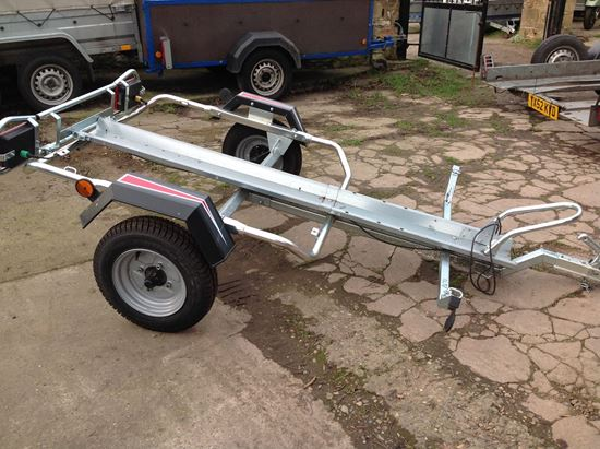 Picture of Erde Single Motorbike Trailer - SOLD