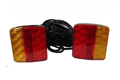 Picture of 12V MAGNETIC LED LIGHTING POD WITH 6M TRAILER CABLE