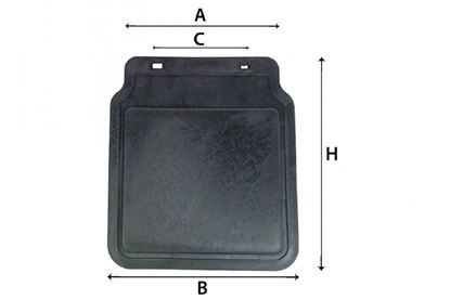 """Picture of RAIN FLAP FOR 8""""/10"""" MUDGUARDS"""