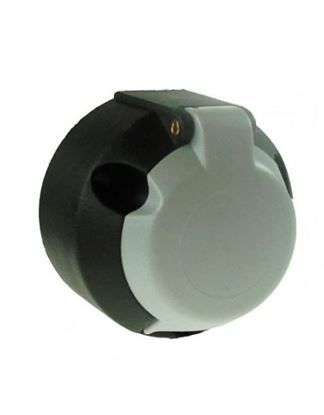 Picture of 12S TYPE 7 PIN PLASTIC SOCKET