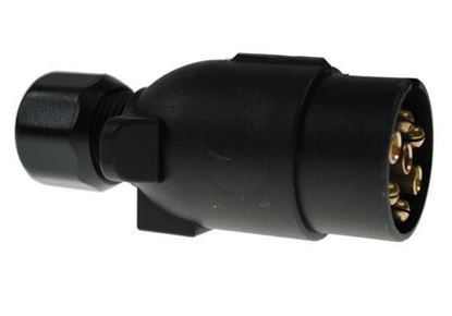 Picture of 12N TYPE 7 PIN PLASTIC PLUG